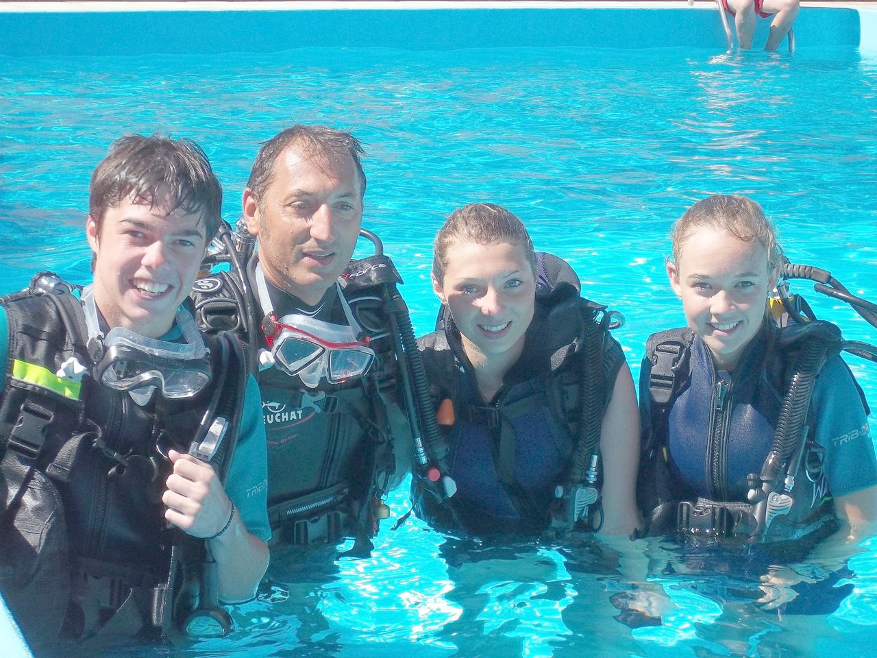 Discover Scuba Diving at campsite La Romiguiere