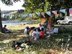 Camping La Romiguiere : 2019 07 15 Partir en Livre au bord du lac